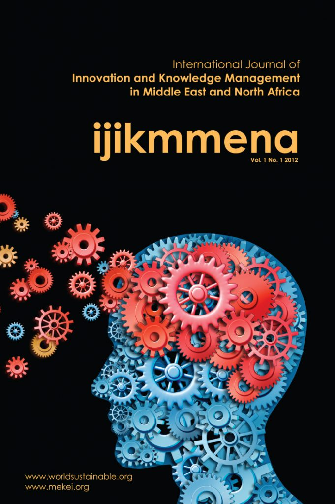 International Journal of Innovation and Knowledge Management in Middle East and North Africa (IJIKMMENA)