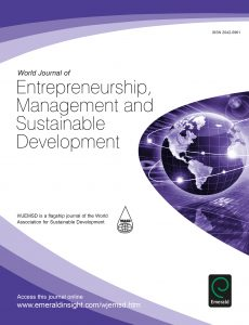 World Journal of Entrepreneurship, Management and Sustainable Development (WJEMSD)