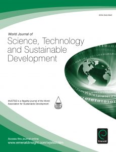 World Journal of Science, Technology and Sustainable Development (WJSTSD)